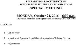 Icon of 20161024 Library Board Special Agenda