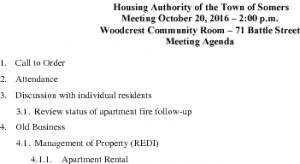Icon of 20162010 Housing Auth Agenda