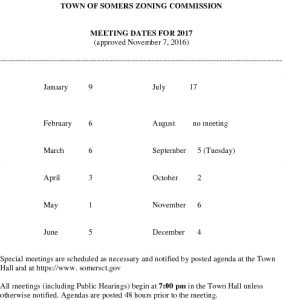 Icon of 2017 Zoning Comm Mtg Schedule