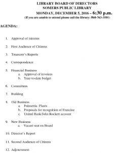 Icon of 20161205 Library Board Agenda