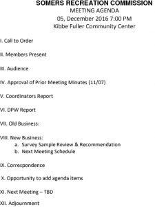 Icon of 20161205 Rec Commission Agenda