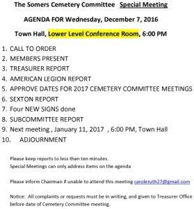 Icon of 20161207 Cemetery Spec Agenda