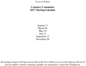 Icon of 2017 Cemetery Comm Mtg Schedule