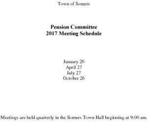 Icon of 2017 Pension Comm Mtg Schedule