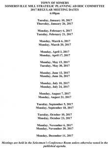 Icon of 2017 Somersville Mill Strategic Planning Schedule