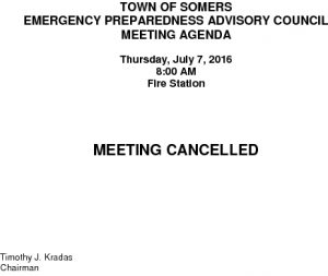 Icon of 20160707 Emerg Prep Mtg Cancellation
