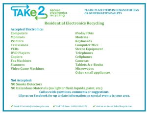 Icon of E-Waste Acceptable Electronics