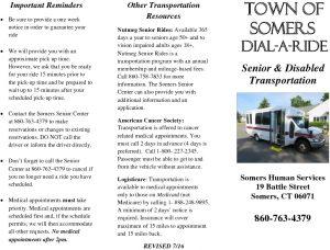 Icon of Transportation Brochure
