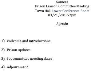 Icon of 20170321 Prison Liaison Agenda