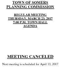 Icon of 20170323 Planning Agenda Canceled