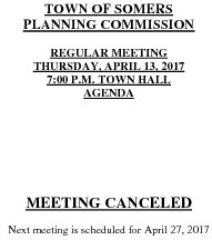 Icon of 20170413 Planning Agenda Canceled