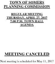 Icon of 20170427 Planning Agenda Canceled