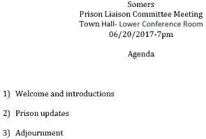 Icon of 20170620 Prison Liaison Agenda