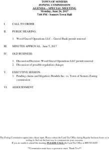 Icon of 20170626 Zoning Commission Special Meeting Agenda