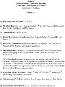 Icon of 20170620 Prison Liaison Minutes