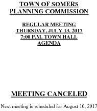 Icon of 20170713 Planning Agenda Canceled