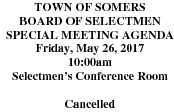 Icon of 20170526 Special BOS Meeting Cancelled