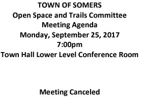 Icon of 20170925 Open Space And Trails Committe Meeting Canceled