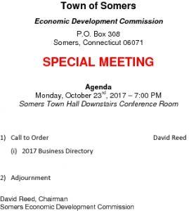 Icon of 20171023 Edc Special Meeting Agenda