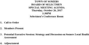 Icon of 20171026 Special BOS Agenda
