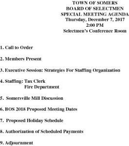 Icon of 20171207 Special BOS Agenda