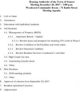 Icon of 20171220 Housing Auth Agenda