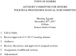 Icon of 20171220 Policies And Procedures Manual Subcommittee Agenda