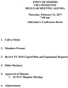 Icon of 20170223-CIP-Agenda