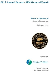 Icon of DRAFT Somers MS4 Annual Report 2.12.2018