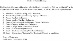 Icon of Ord Public Hearing Notice 2018