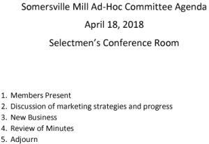 Icon of 20180418 Somersville Mill Agenda