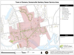 Icon of Somersville Service Area Map