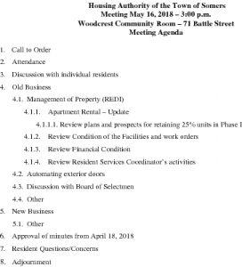 Icon of 20180516 Housing Auth Agenda