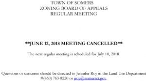 Icon of 20180612 ZBA Meeting Cancelled