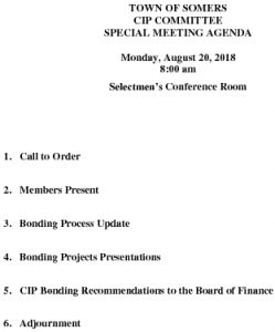Icon of 20180820 Special CIP Agenda