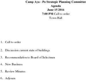 Icon of 20160615 Camp Ayapo Agenda