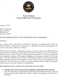 Icon of 2018 Final Charter Recommendations