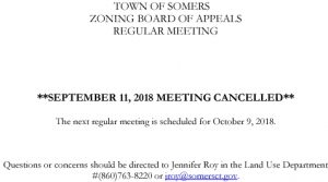 Icon of 20180911 ZBA Meeting Cancelled