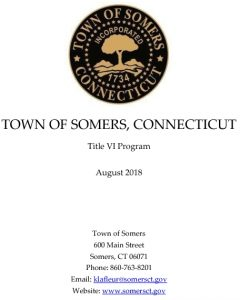 Icon of Town Of Somers Title VI Program