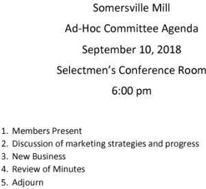 Icon of 20180910 Somersville Mill Agenda