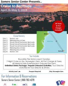 Icon of 2019 Tours Of Distinction Bermuda Cruise