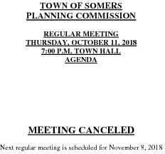 Icon of 20181011 Planning Meeting Canceled
