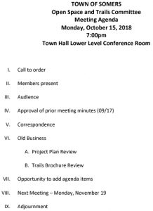 Icon of 20181015 Open Space And Trails Committe Meeting Agenda