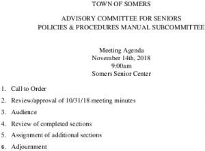 Icon of 20181114 Policies And Procedures Manual Subcommittee Meeting Agenda