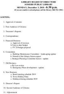 Icon of 20181203 Library Board Agenda