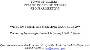 Icon of 20181211 ZBA Meeting Cancelled