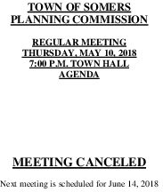 Icon of 20180510-Planning-Agenda-Meeting-Canceled