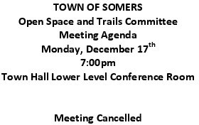 Icon of 20181217 Open Space And Trails Committe Meeting Agenda