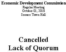 Icon of 20181001 Economic Dev Mtg Cancellation