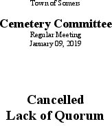 Icon of 20190109 Cemetery Mtg Cancellation